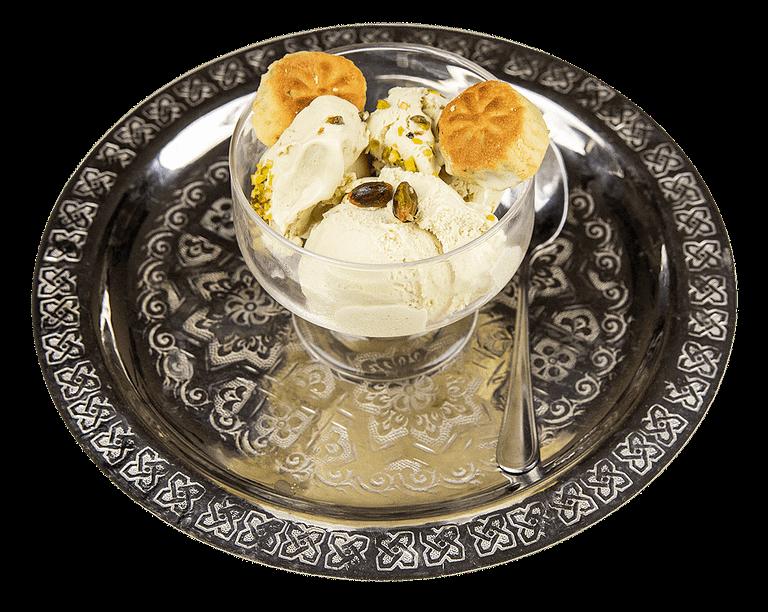 Barazek con gelato