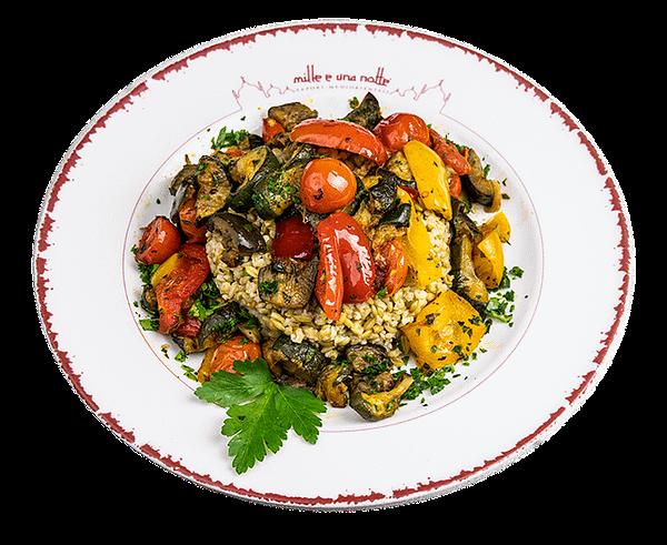 Frika con verdure