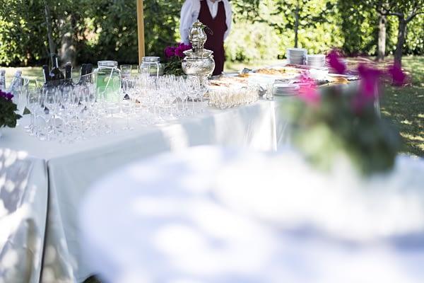 Catering matrimonio mediorientale